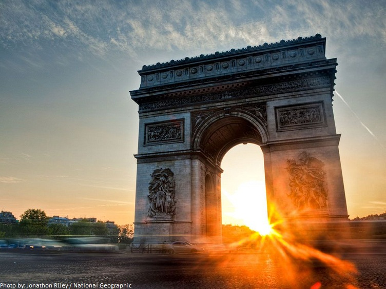 interesting facts about the arc de triomphe just fun facts. Black Bedroom Furniture Sets. Home Design Ideas