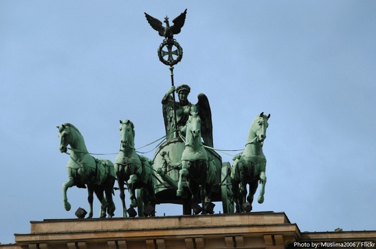 brandenburger gate quadriga