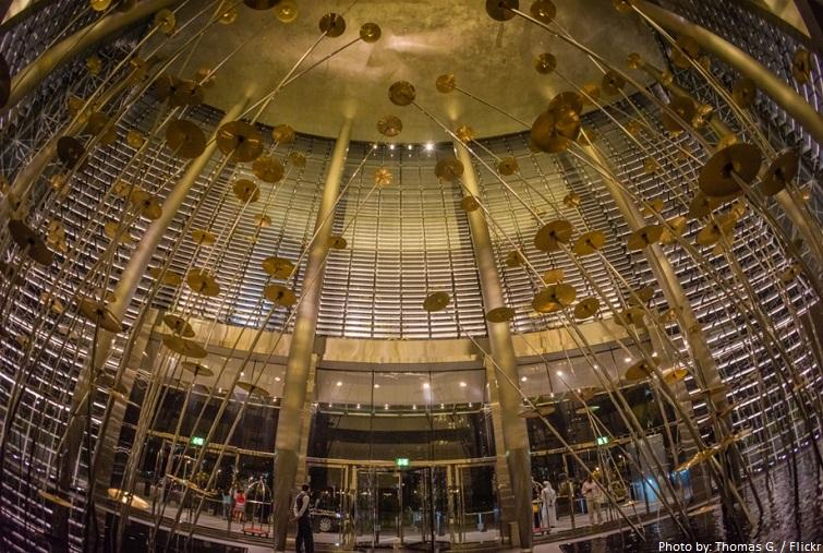 burj khalifa lobby