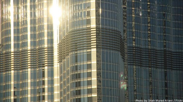 burj khalifa windows