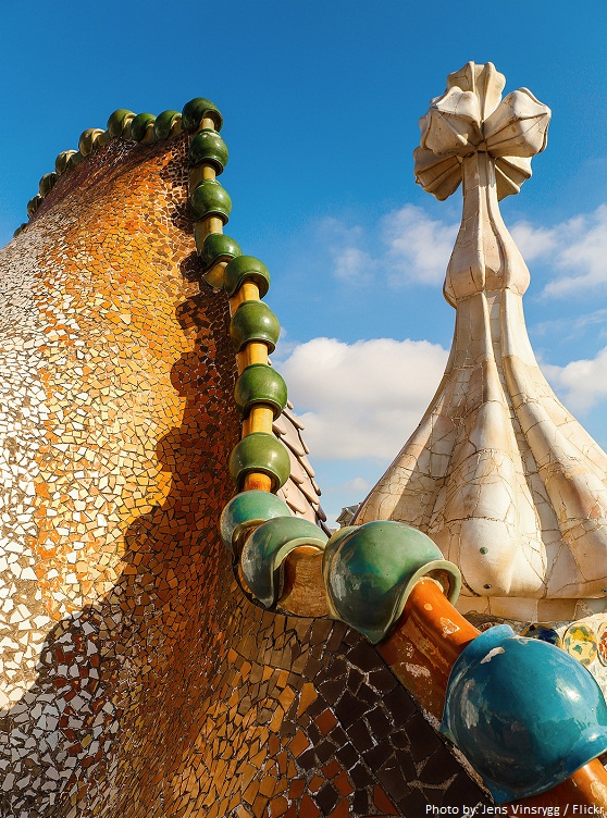 casa batllo roof dragon