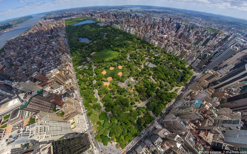 Interesting facts about central park just fun facts for Periferia new york