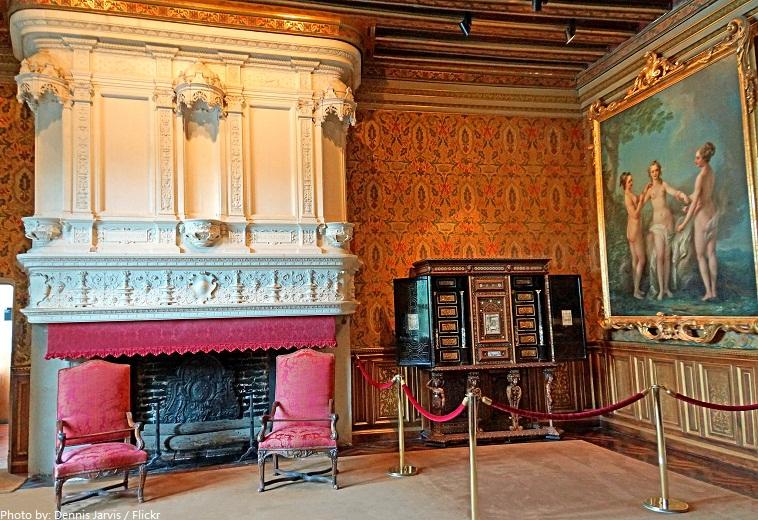 chateau de chenonceau François I drawing room