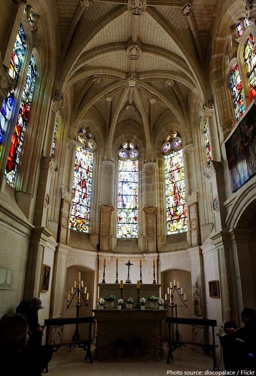 chateau de chenonceau chapel