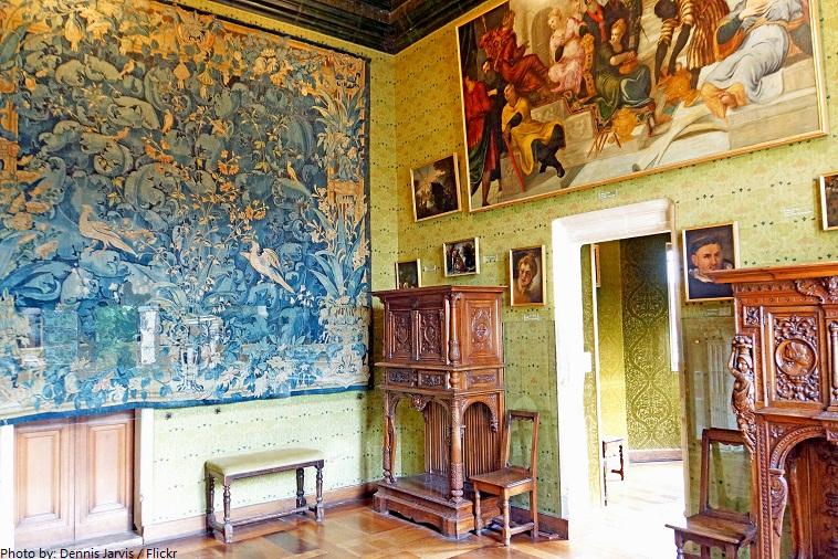 chateau de chenonceau green study
