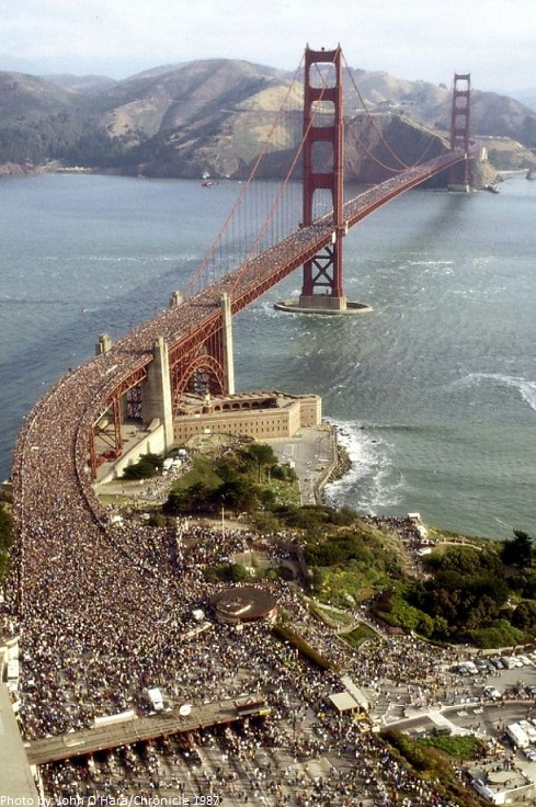 golden gate bridge 50th birthday party