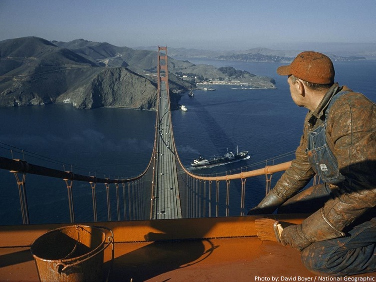 golden gate bridge paint