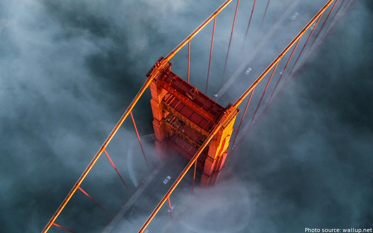 golden gate bridge tower