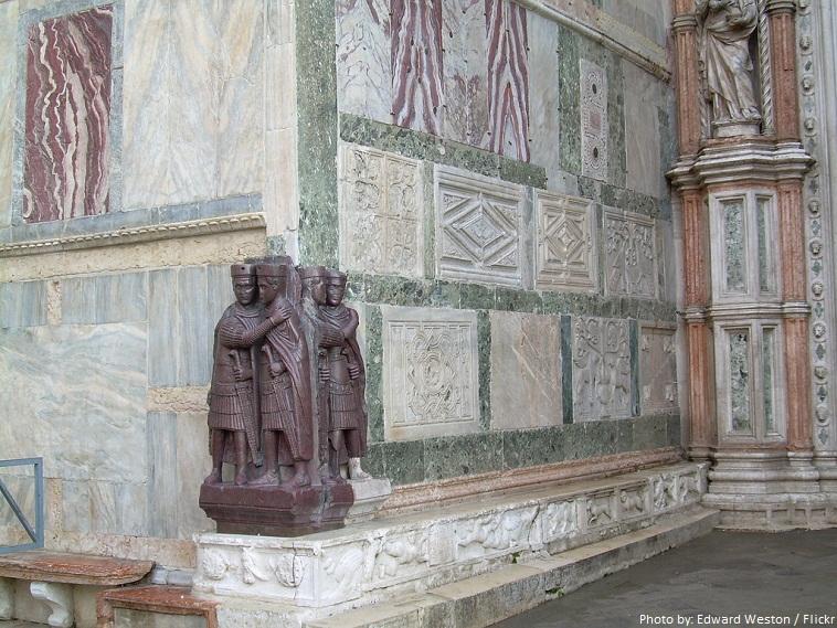 saint marks basilica four tetrarchs