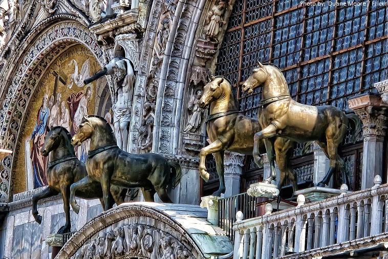 saint marks basilica horses