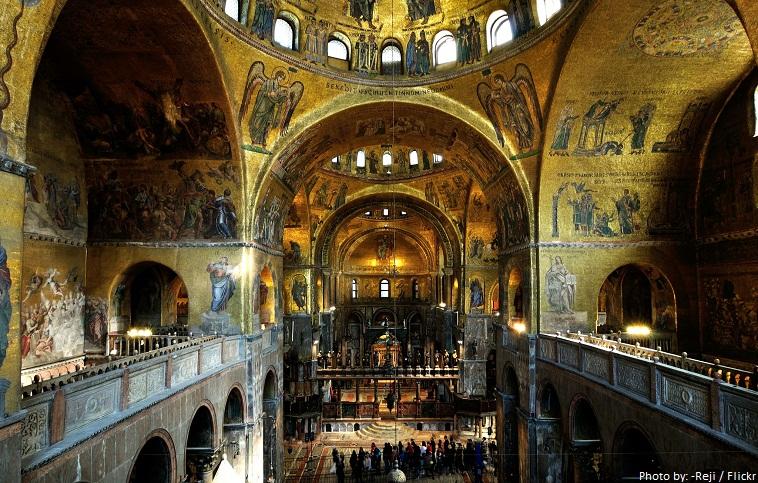 saint marks basilica inside