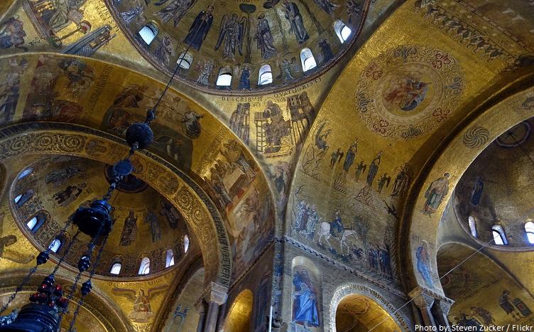 saint marks basilica interior