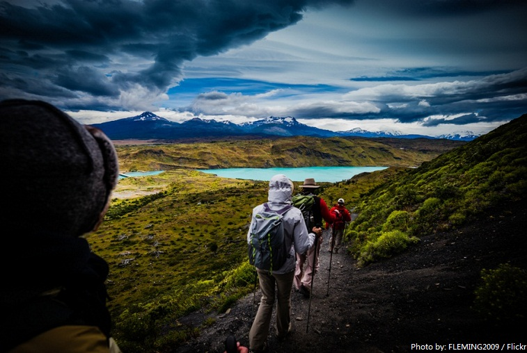 torres del paine national park trail