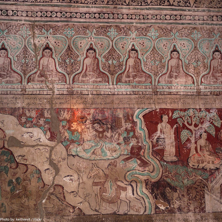 bagan mural