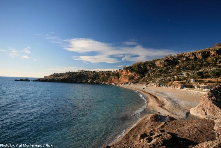 beach montenegro