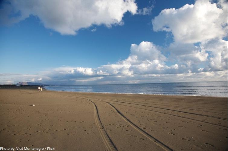 big beach montenegro