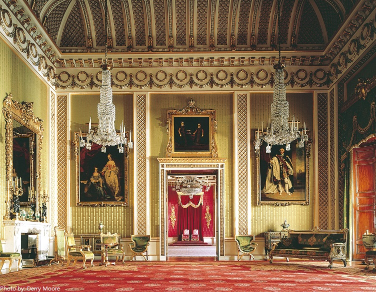 buckingham palace green drawing room