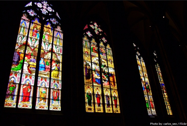 cologne cathedral bayernfenster stained glass window