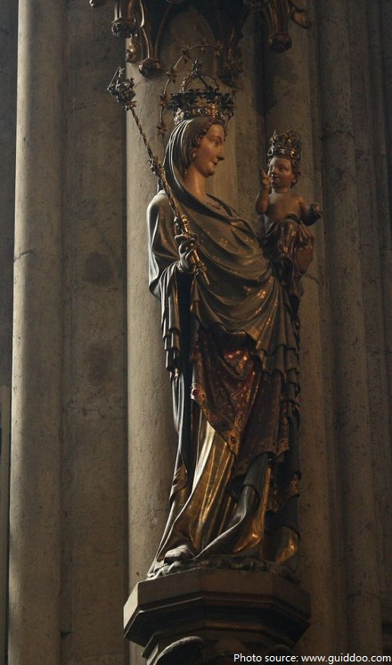 cologne cathedral madonna of milan