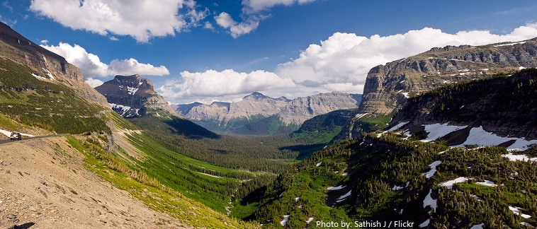 glacier national park st mary vally