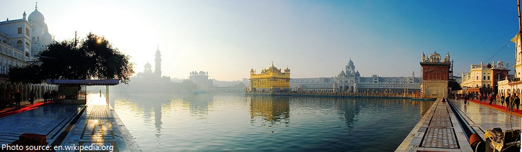 golden temple lake
