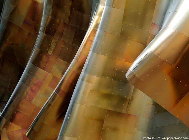 guggenheim museum bilbao titanium