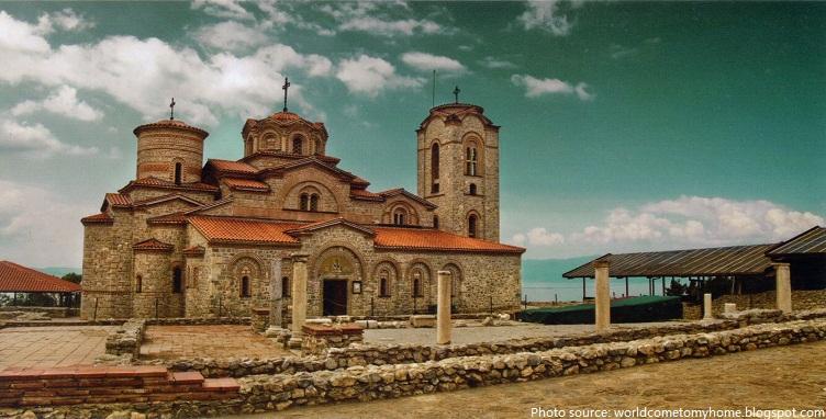 saint panteleimon monastery ohrid