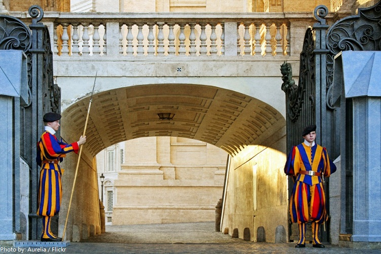 swiss guard vatican