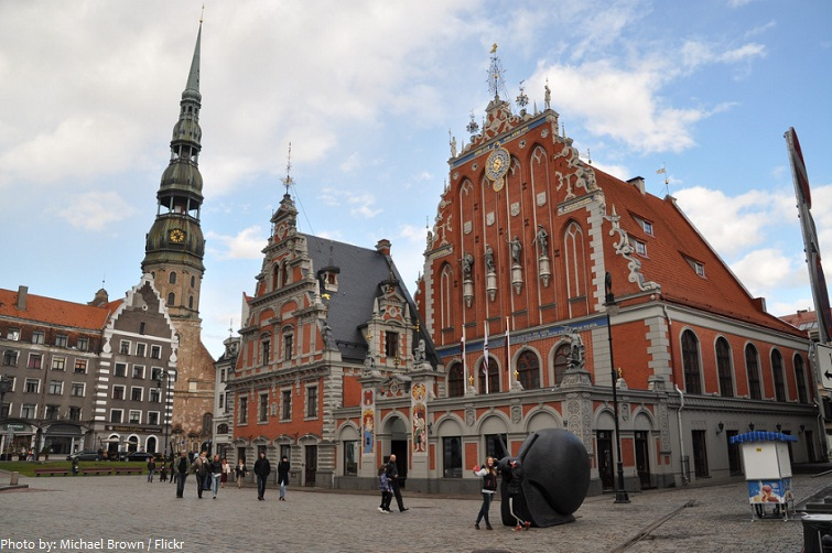 historic centre of riga