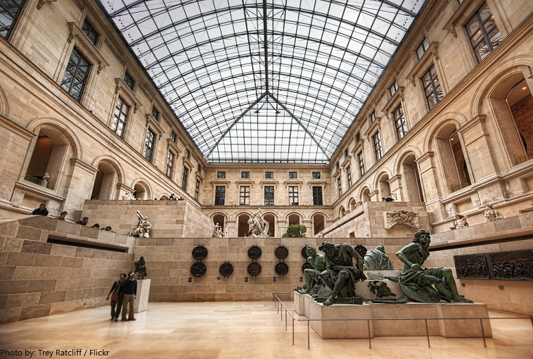 Interesting facts about the louvre just fun facts for Le louvre interieur