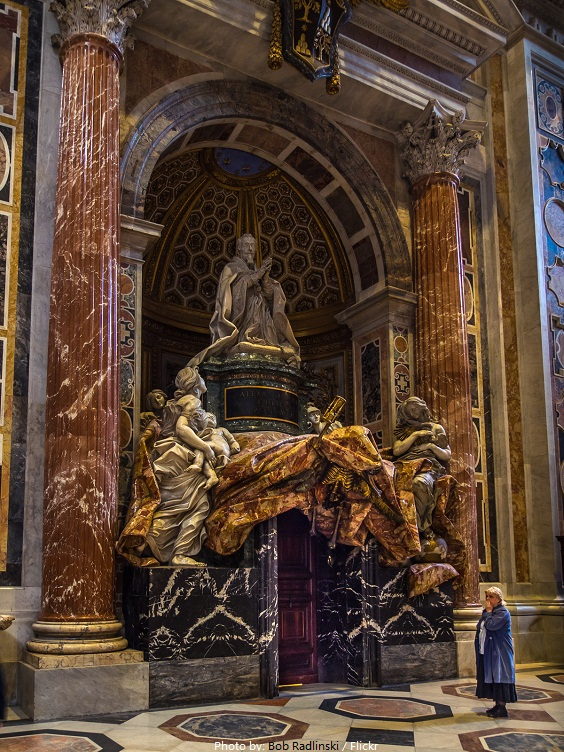 Interesting facts about st peter s basilica just fun facts for Facts about the monument