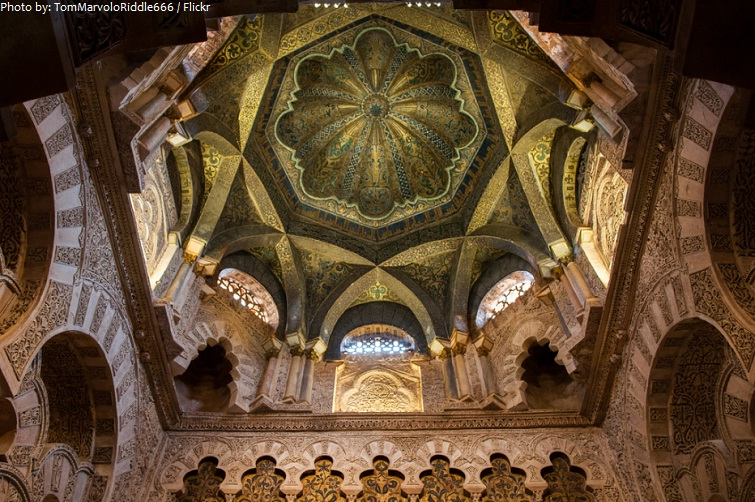 mosque cathedral of cordoba dome