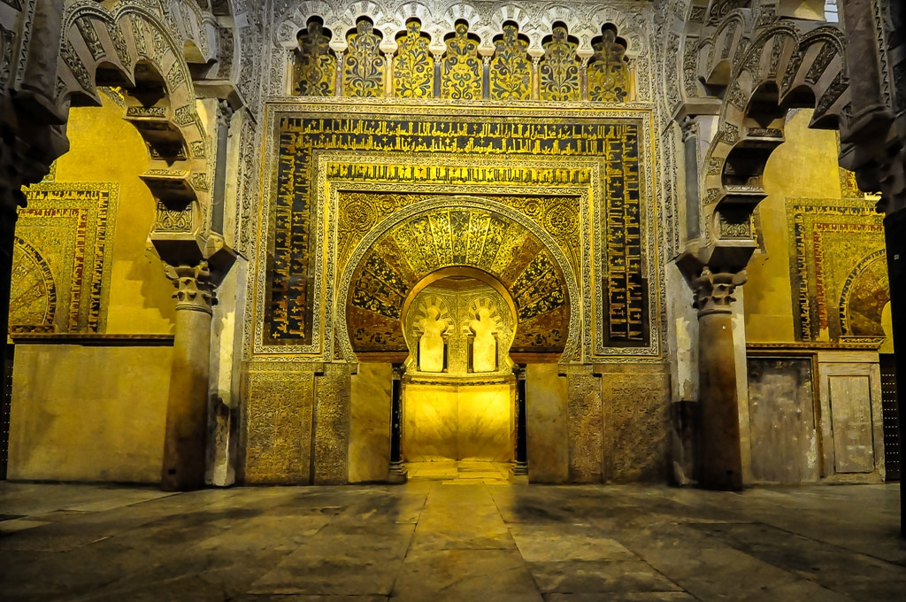 mosque cathedral of cordoba mihrab