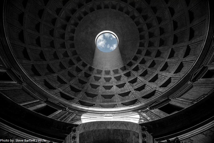pantheon-dome