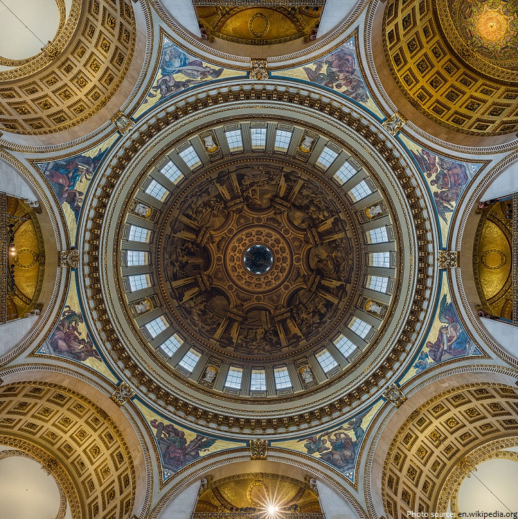st paul's cathedral interior dome