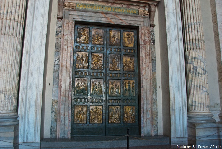 st. peter's-basilica Holy Door