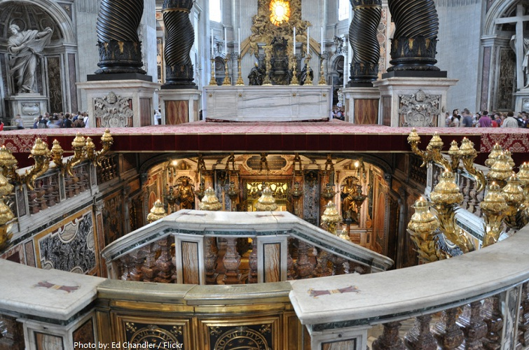 st. peter's basilica confessio