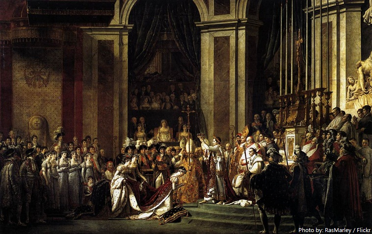 the coronation of napoleon louvre