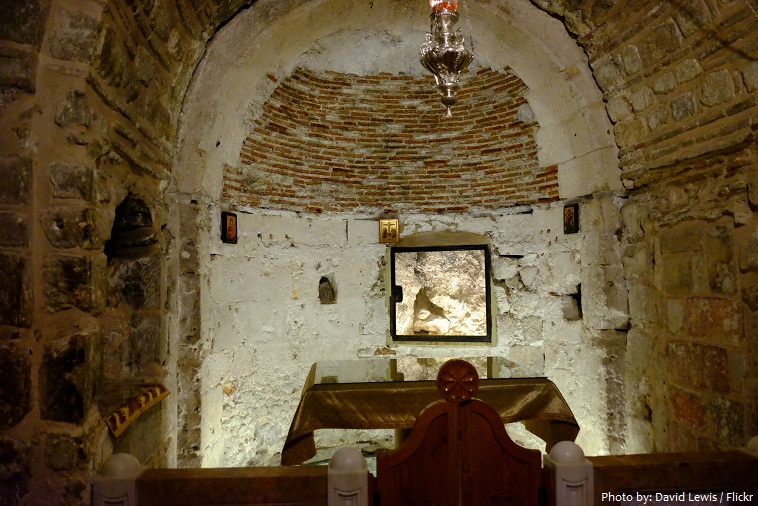 Church of the Holy Sepulchre Adams chape