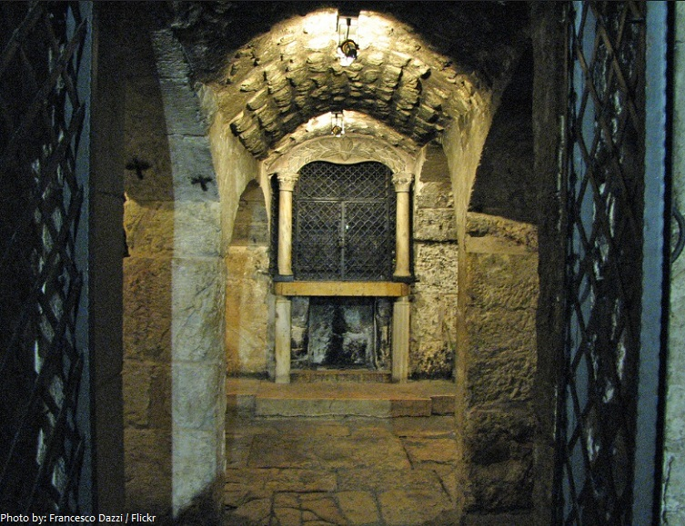 Church of the Holy Sepulchre Holy Prison