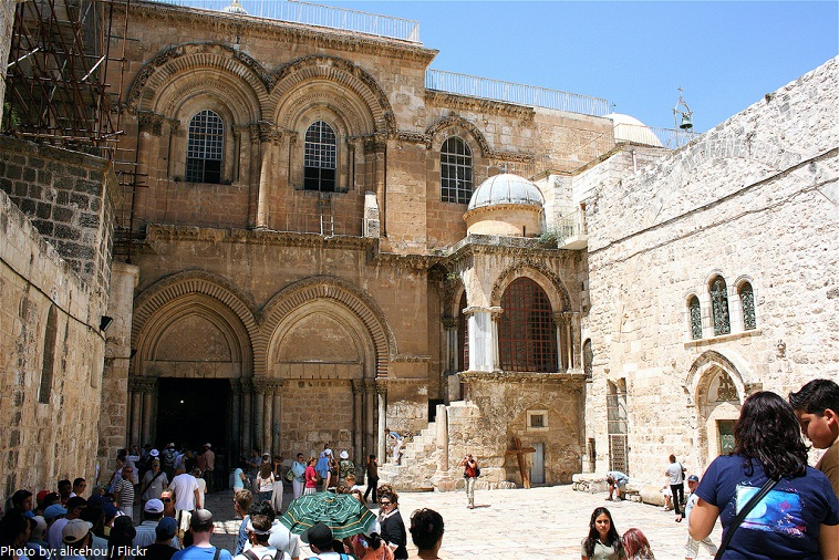 Church of the Holy Sepulchre entrance