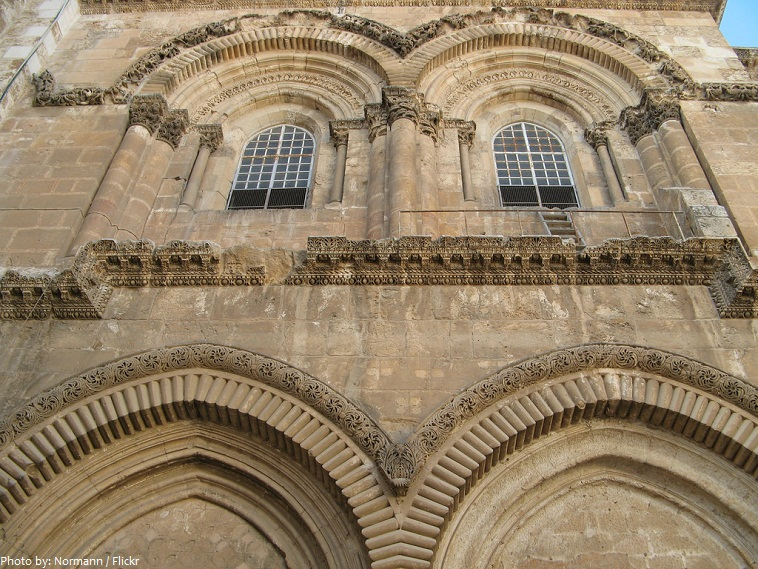 Church of the Holy Sepulchre facade