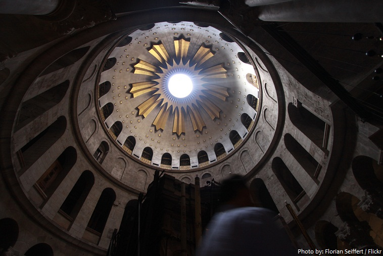 Church of the Holy Sepulchre rotunda