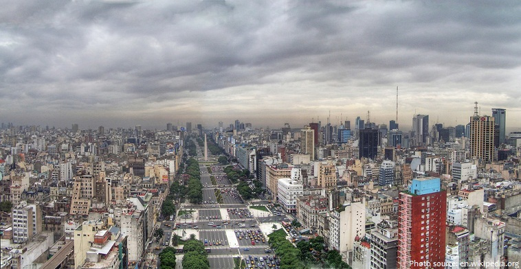 avenida 9 de julio widest avenue in the world