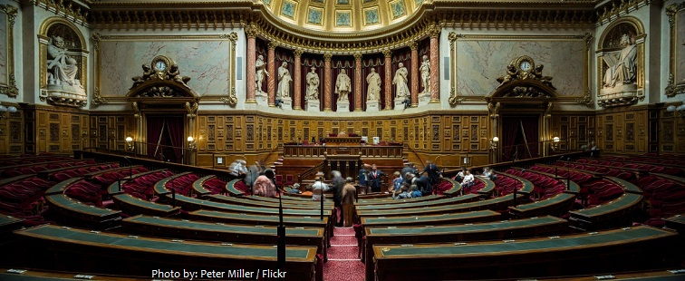 french senate chamber