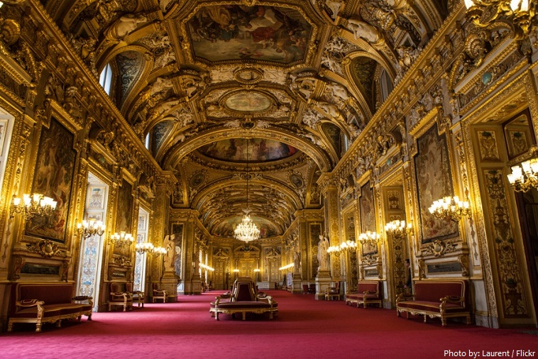 luxembourg palace interior