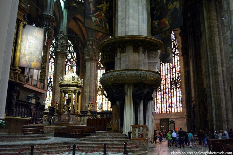 milan cathedral apse