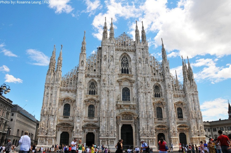 milan cathedral facade
