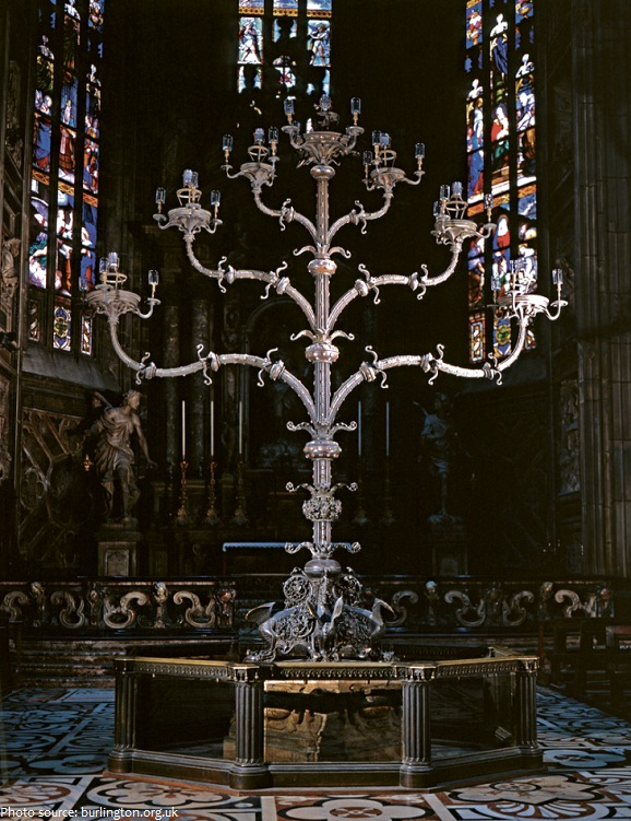 milan cathedral interior decoration