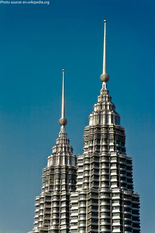petronas towers pinnacles